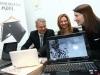 Tehnologija je u modi, Erik Lalier, direktor HP grupe za Evropska trzista, Vesna Rakic, HP PSG marketing menadzer, Dragana Ognjenovic i HP Pavilion dv6_resize