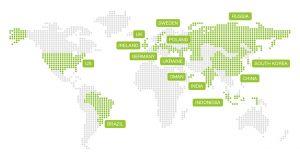 Zemlje u kojima je ispitivanje sprovedeno