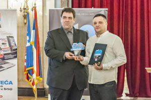 Marko Ilić primio je nagradu ispred Tako Lako Shopa i Nelt Grupe