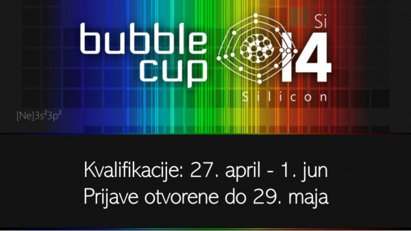 Bubble cup 14