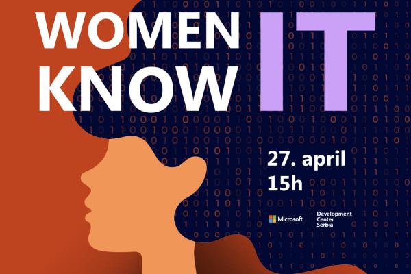 I žene znaju IT! Pridružite im se 27. aprila